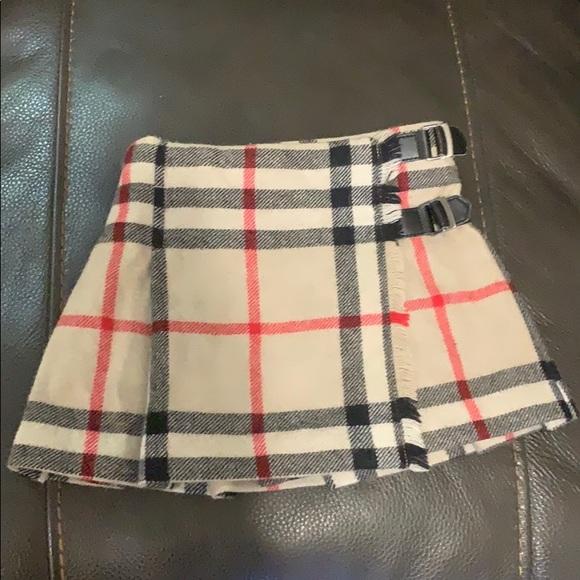 b5a9f5369c Burberry Bottoms   Nova Check Pleated Wool Skirt 2t 2yrs   Poshmark